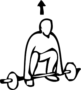outlines of people clipart best weightlifting clipart weight lifting clip art women