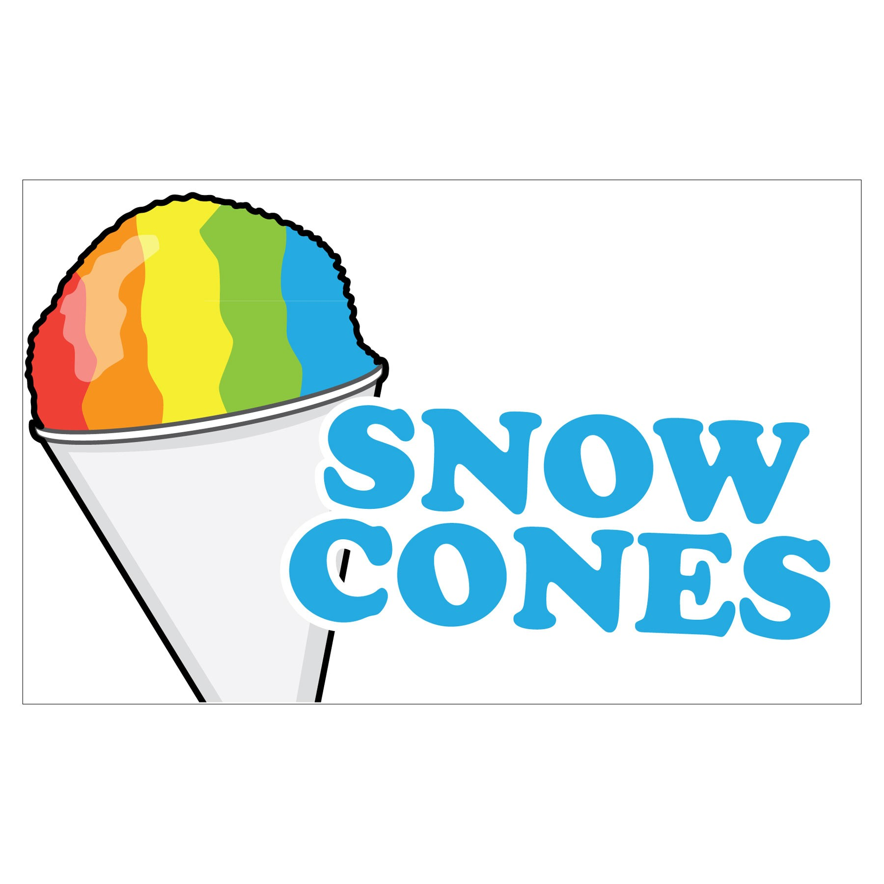 free clipart of snow cones - photo #1