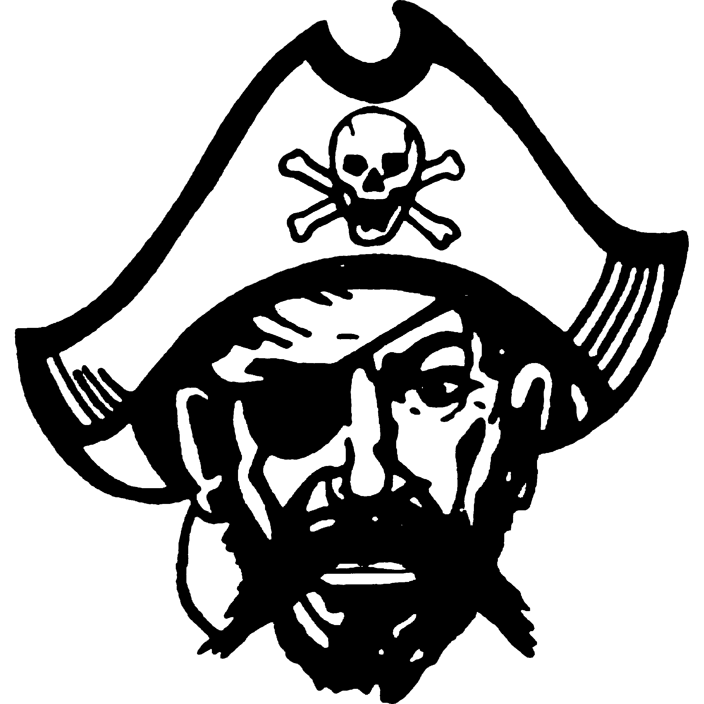 Pirate Skull And Bones - ClipArt Best