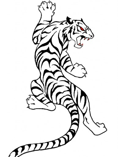 Tribal Tiger - ClipArt Best