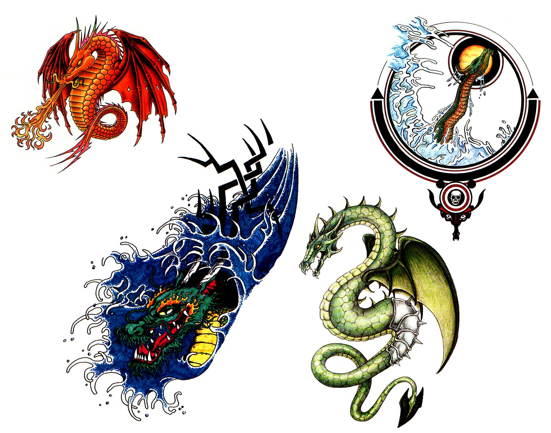 Baby dragon tattoo clipart best for Baby dragon tattoos