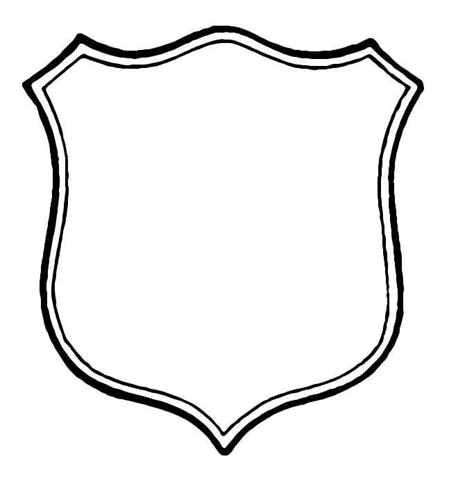 Shield Outline Drawing 14 Shield Outline ai