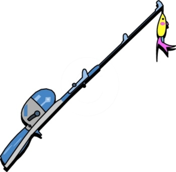 Fishing rod clipart clipart best for Best fishing pole for beginners
