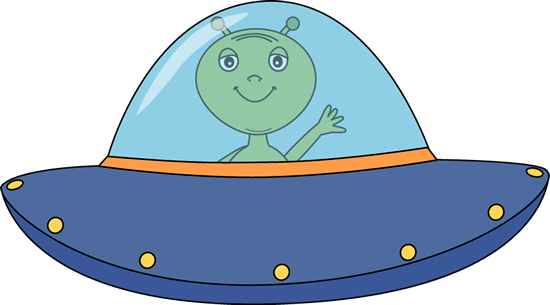 Ufo and alien clipart - ClipartFox