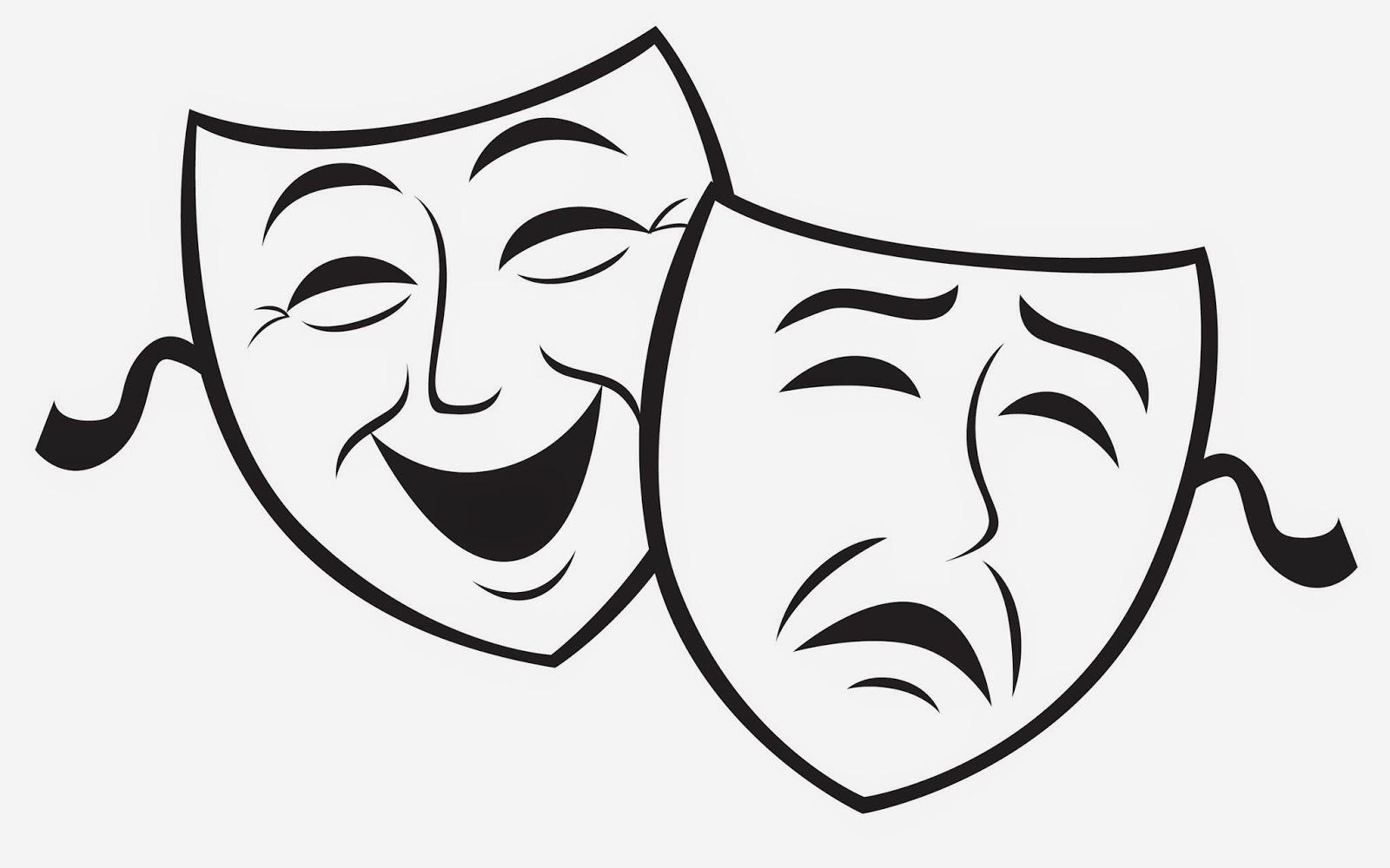 comedy drama masks clipart best Theatre Masks Clip Art drama masks clip art free