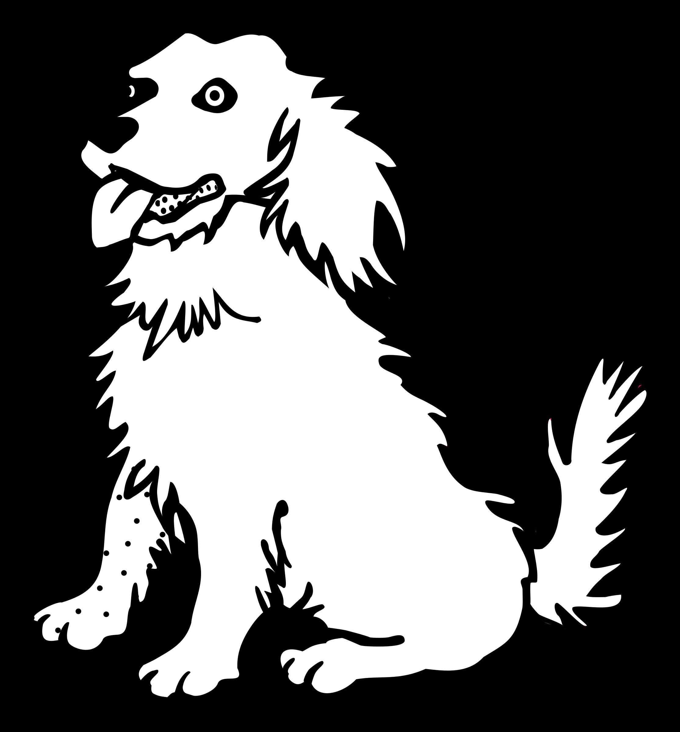 Line Art Dog : Dog line image clipart best