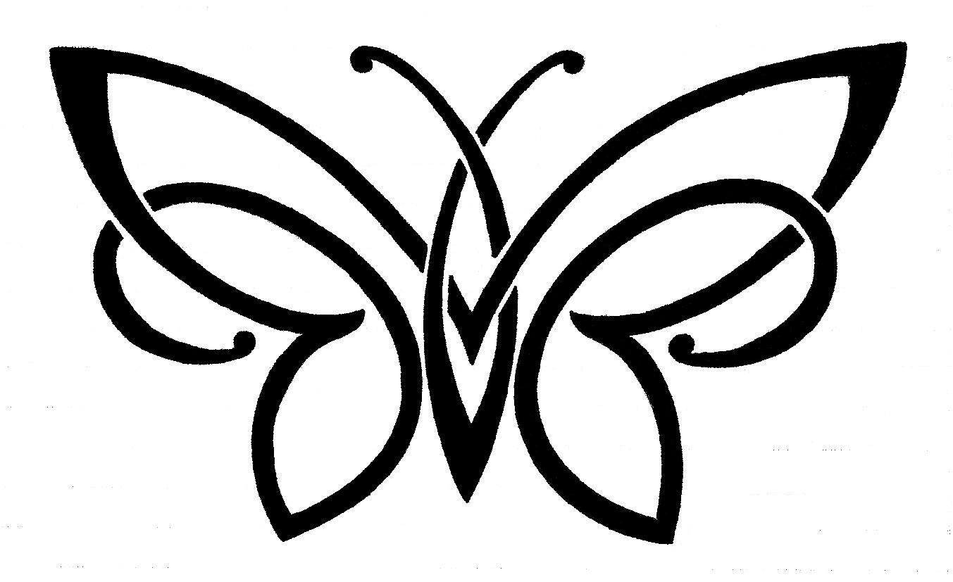 Butterfly Wing Outline | Free Download Clip Art | Free ...