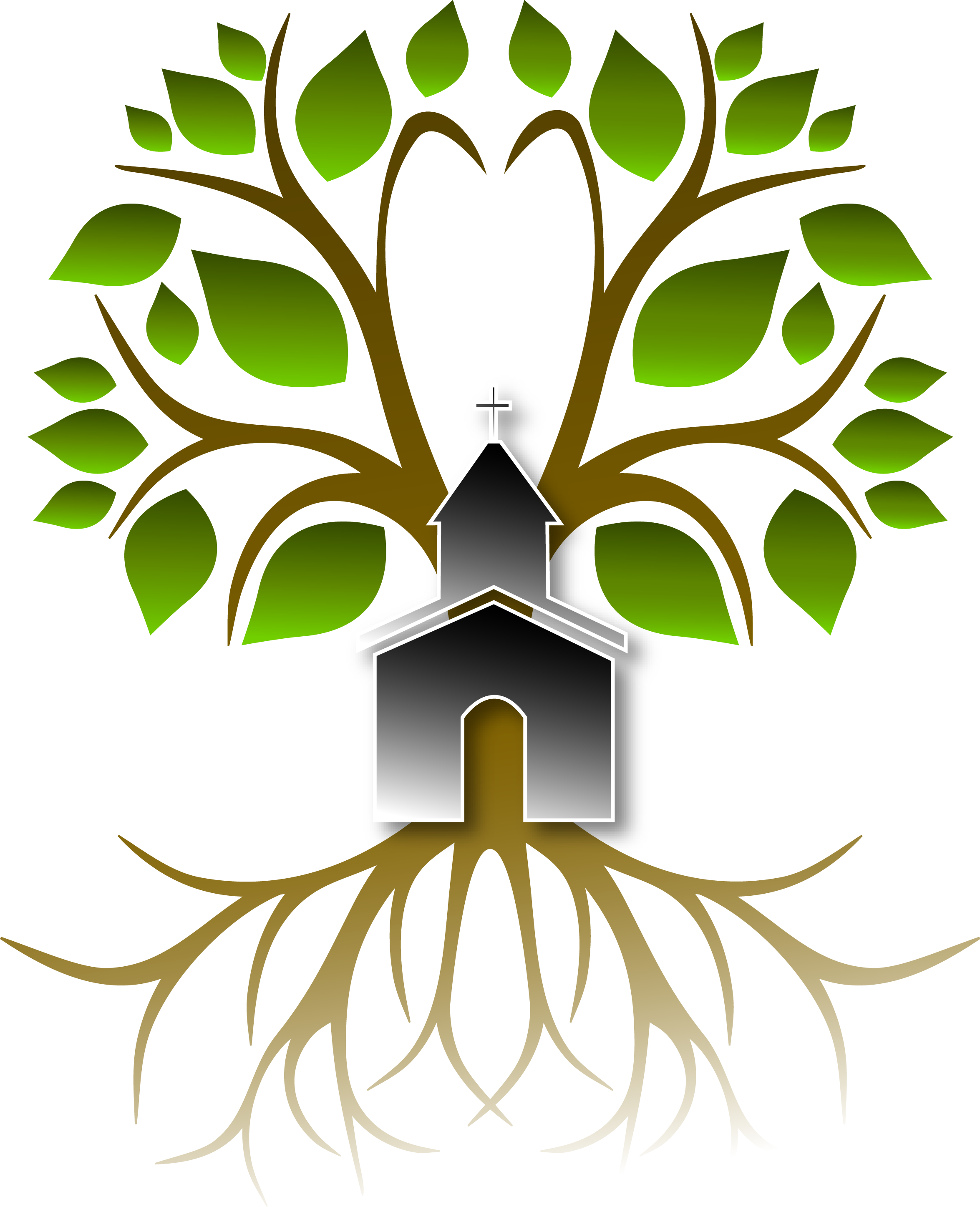 clipart family tree with roots - photo #30