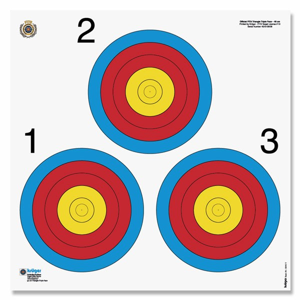 triangle archery target stand how to