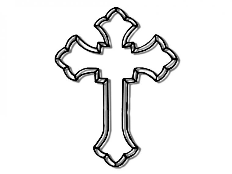 Printable Cross Template