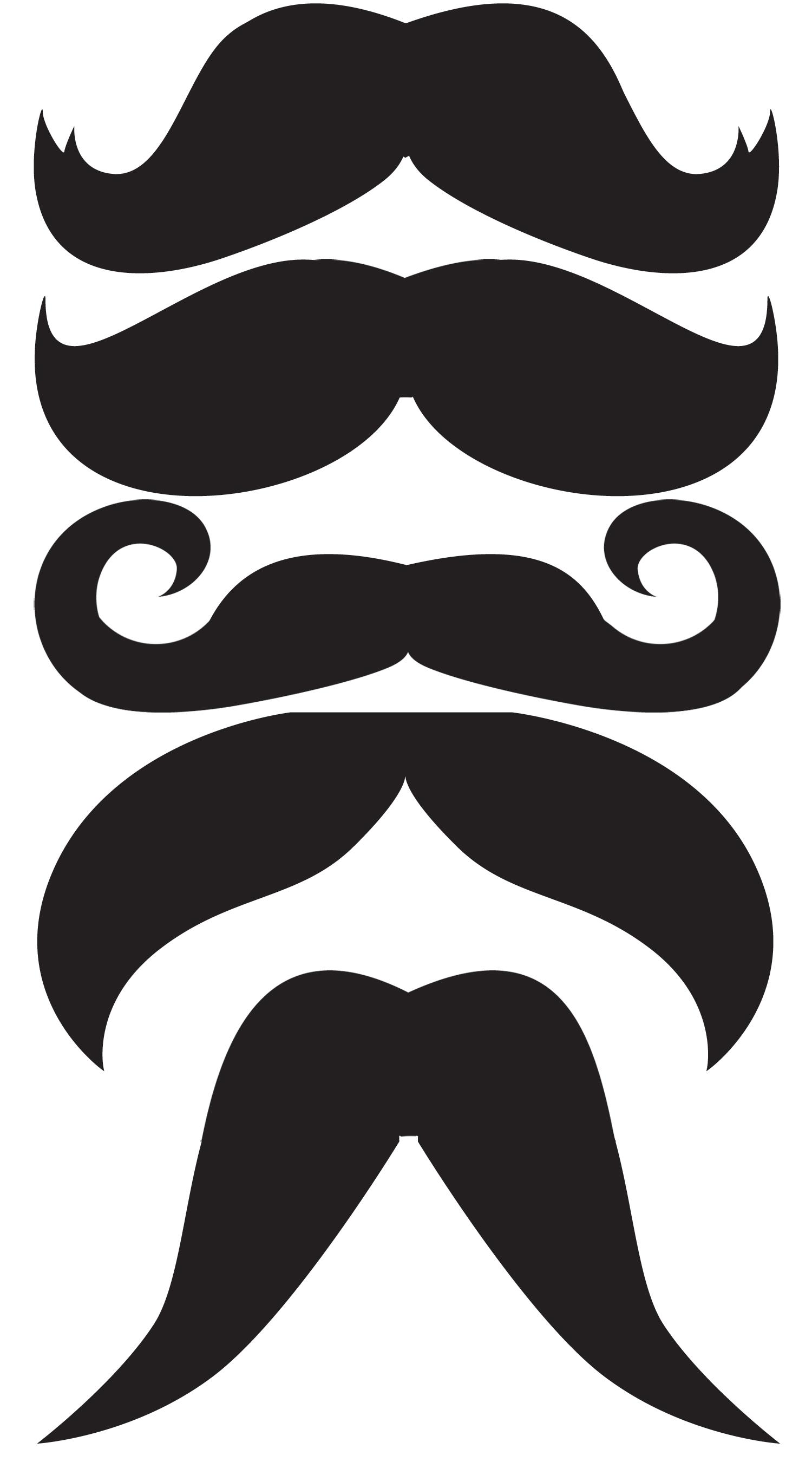 free vector mustache clip art - photo #33