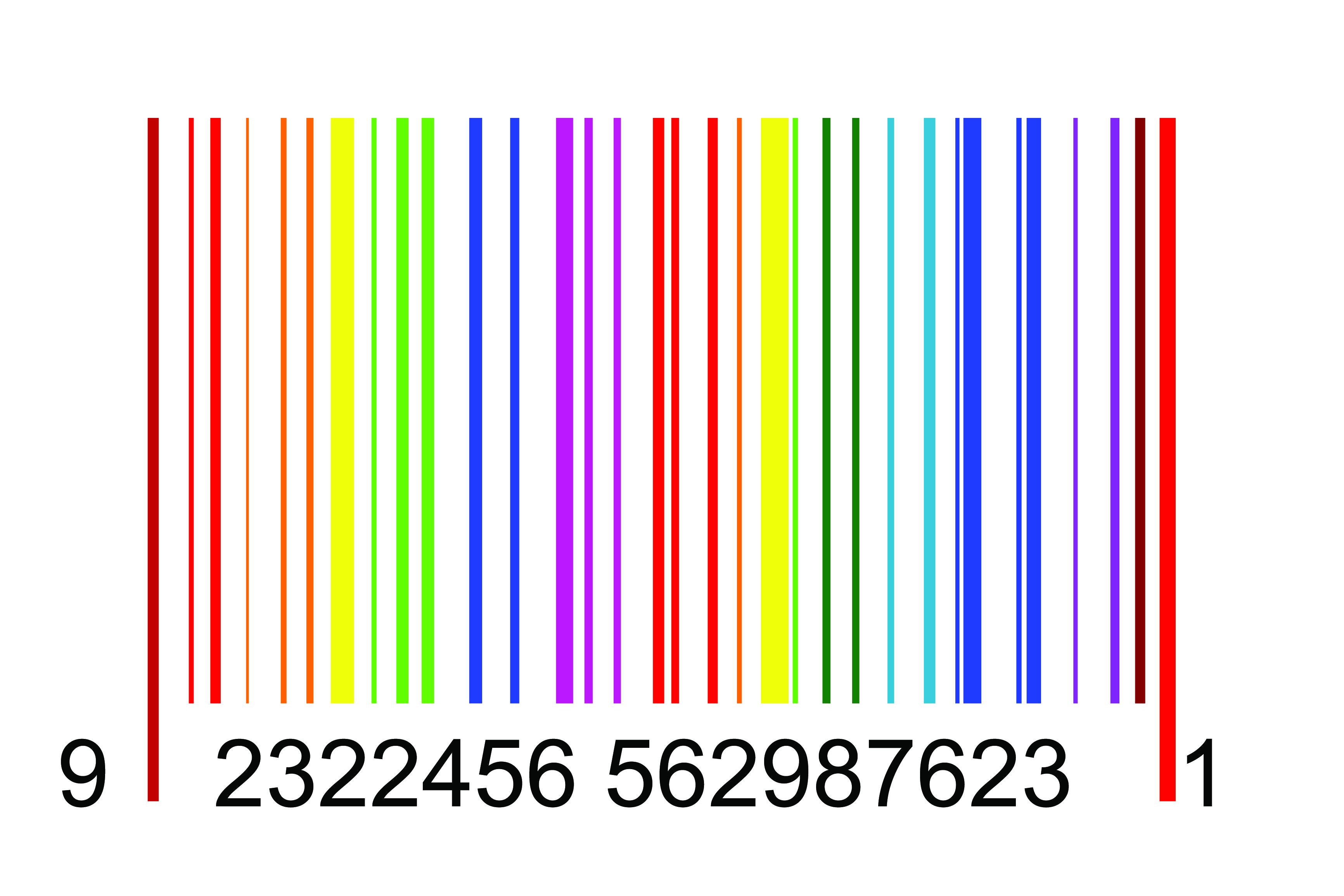 Fereditions31 Codigos De Barra Png: Vector Barcode