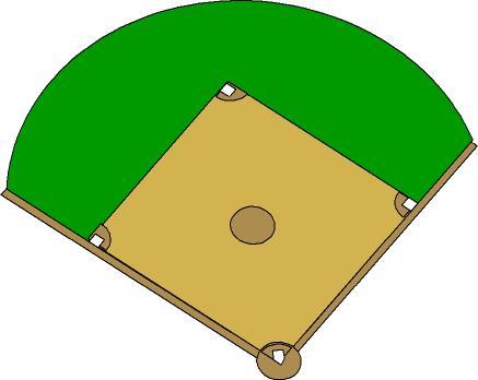 Printable Baseball Diamond - ClipArt Best