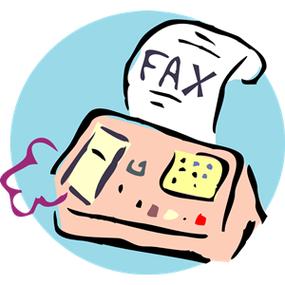free fax machine use