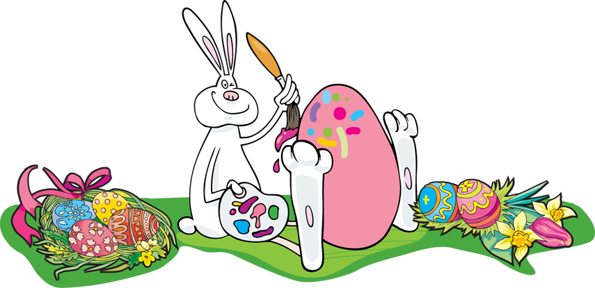 The Easter Egg Painting Bunny