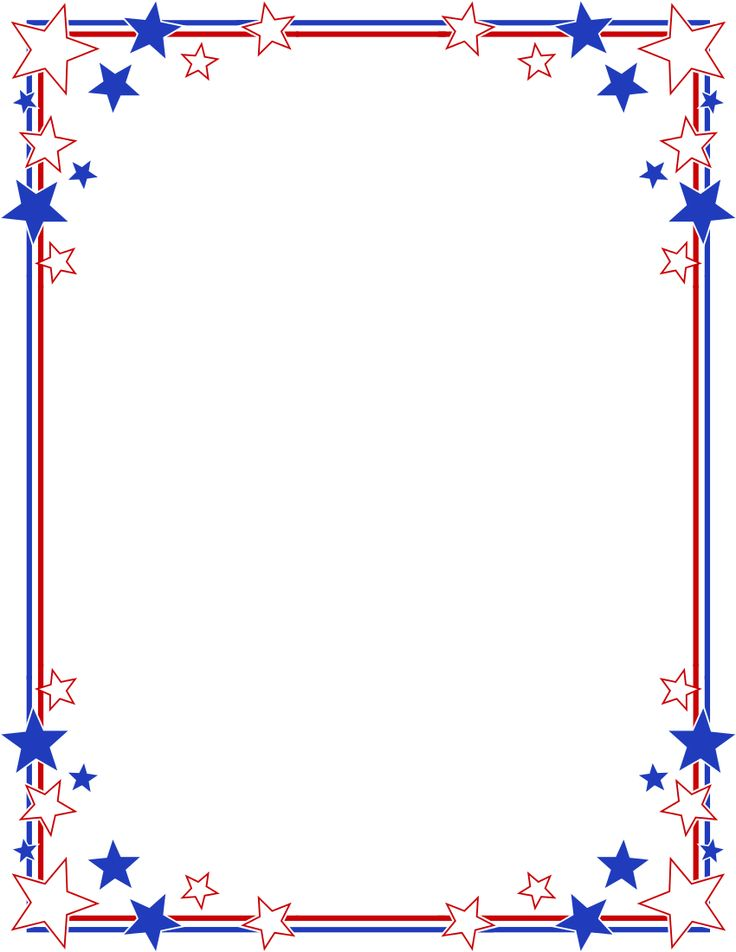 FREE AMERICAN BORDERS - ClipArt Best