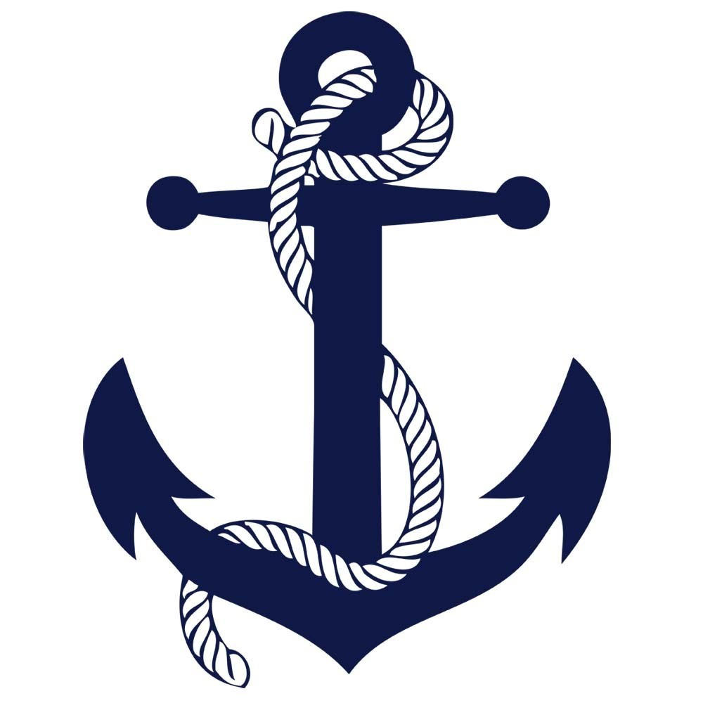 Sailboat clipart navy blue logo