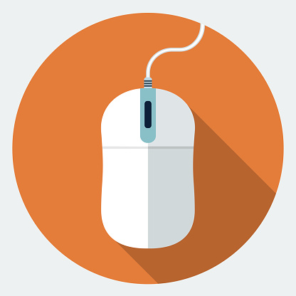 computer mouse icon vector clipart best