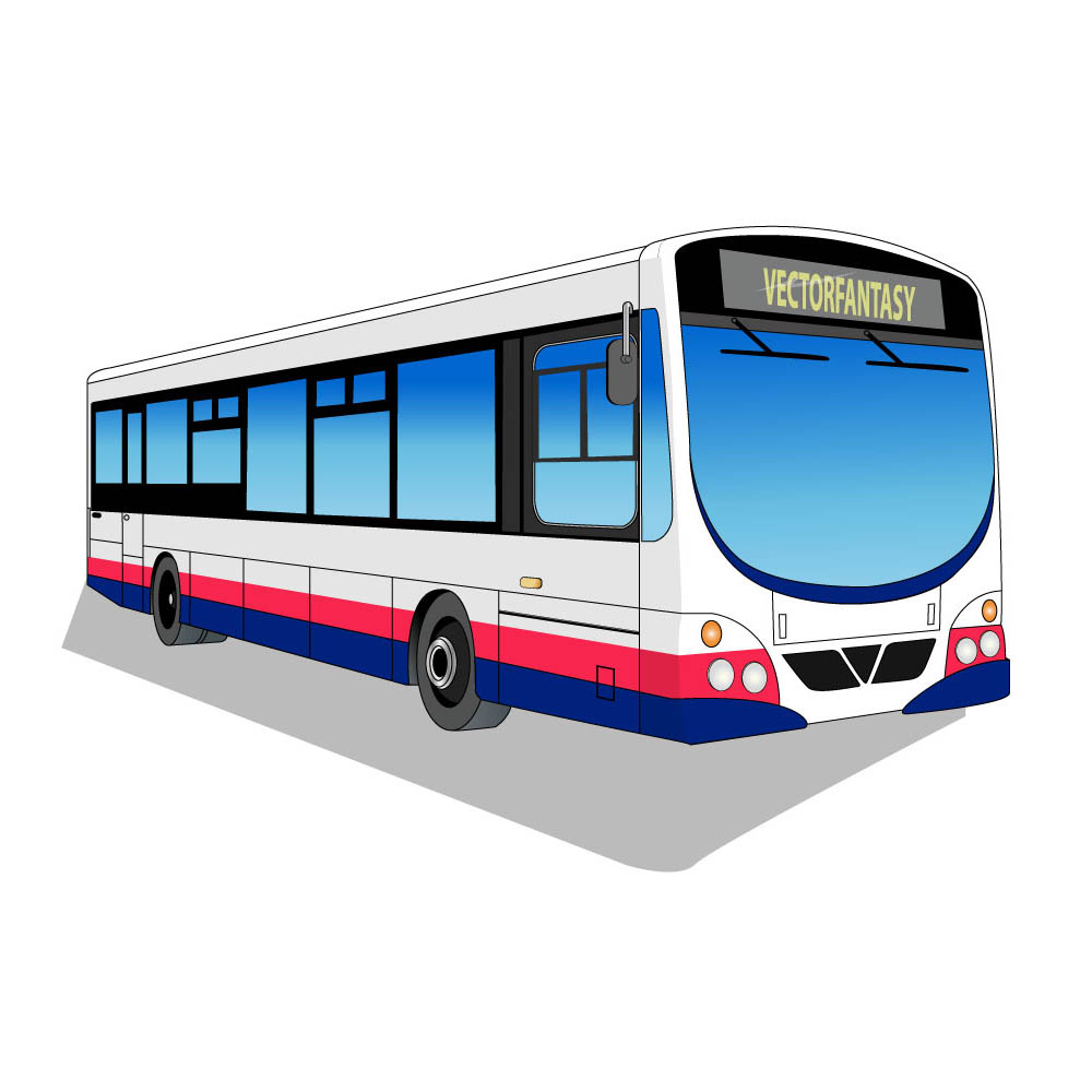 Bus vector clipart best for Clipart bus