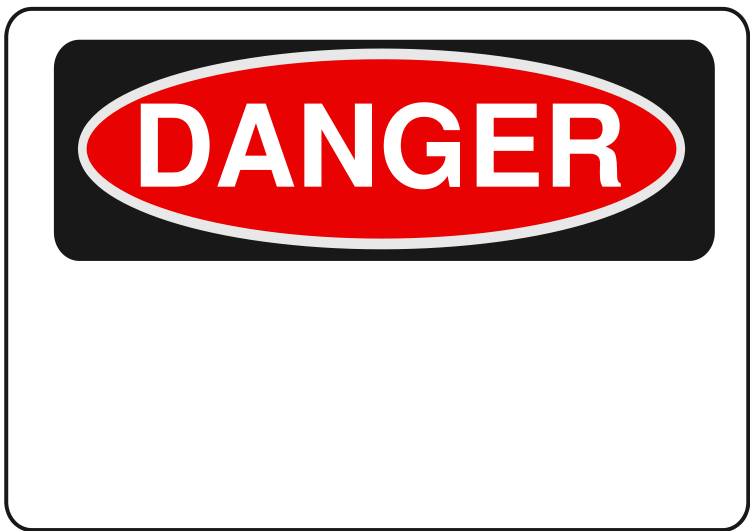 Danger Sign - ClipArt Best - ClipArt Best
