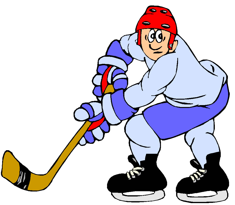 Ice Hockey Clip Art / HOCKY040. - ClipArt Best - ClipArt Best