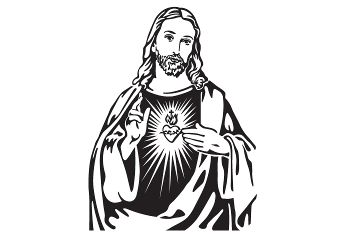 Line Art Jesus : Line art pictures of jesus clipart best