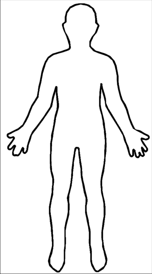 human body outline image | free for download human body picture ...