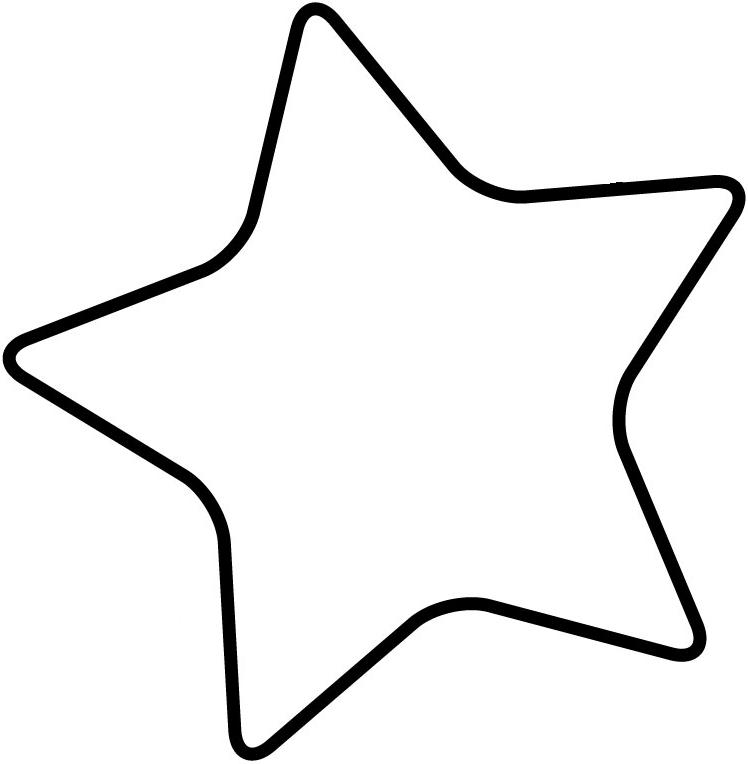 Blank Star Template   ClipArt Best JchsHwlU