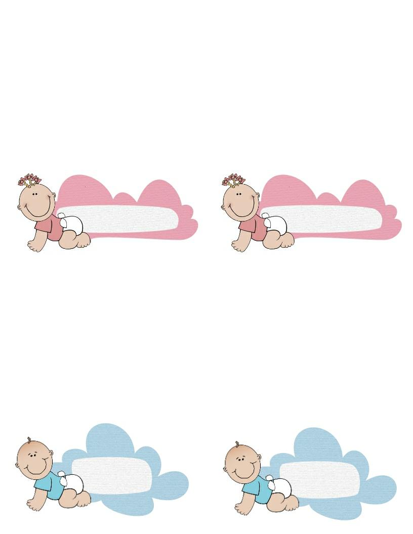 Girl Baby Shower Border Frames - ClipArt Best