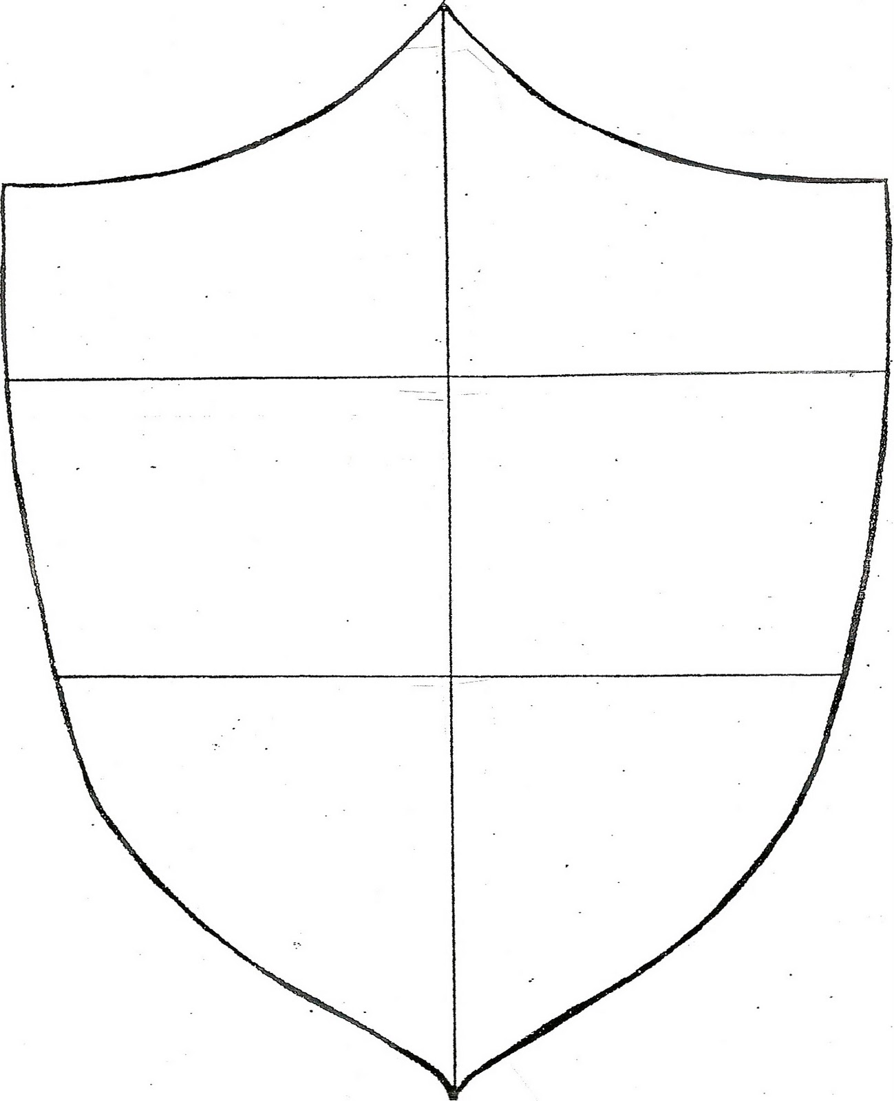 shield template to print - coat of arms shield template clipart best