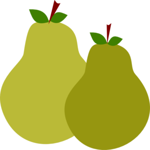 Pair Of Pears clip art - vector clip art online, royalty free ...: www.clipartbest.com/pear-clipart