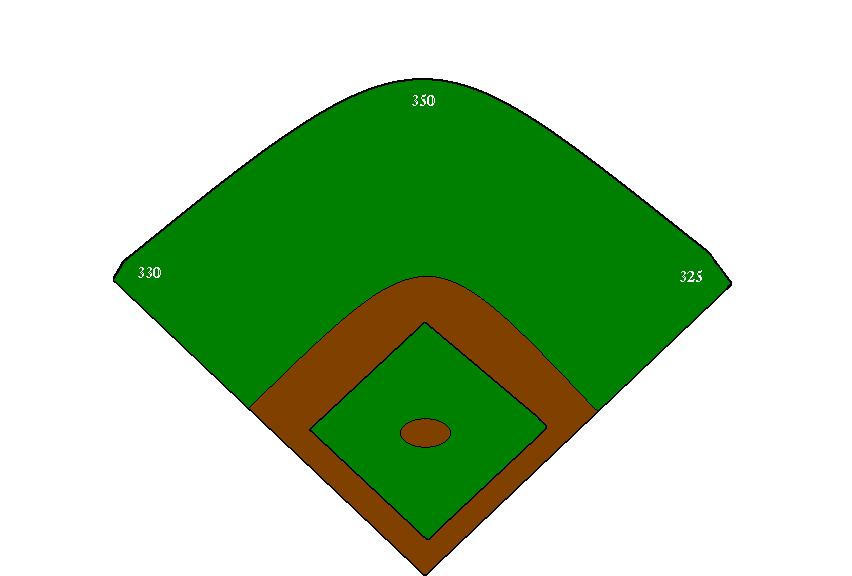 baseball field clip art clipart best