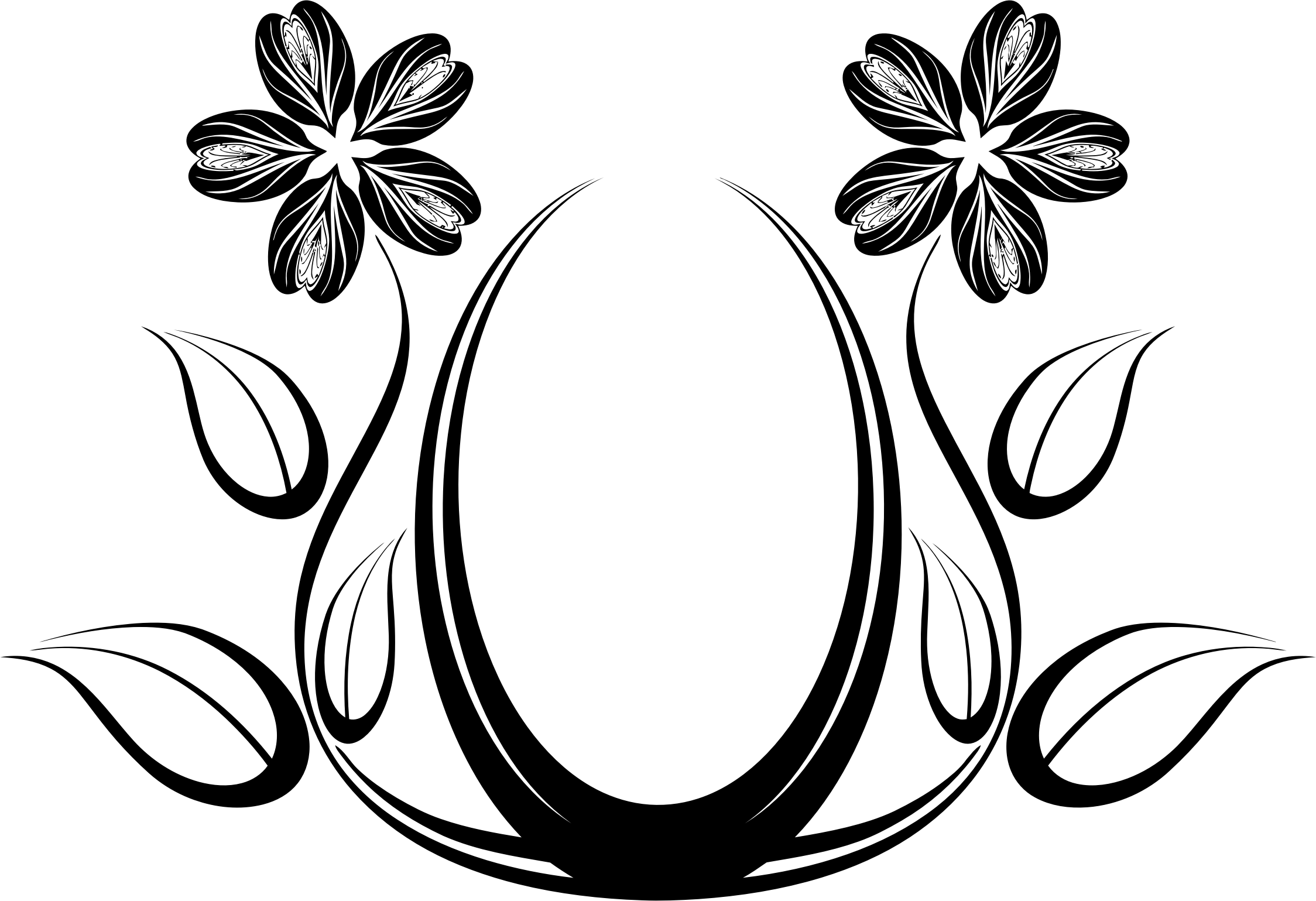 Flowers Vector Drawing Png: Cliparts Flowers Png Design