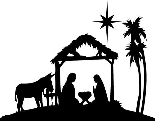 Nativity Silhouette Patterns