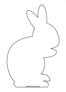 Images of Easter Bunny Template - Jefney