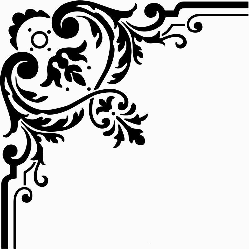 Fancy Corner Border Designs - ClipArt Best  Fancy