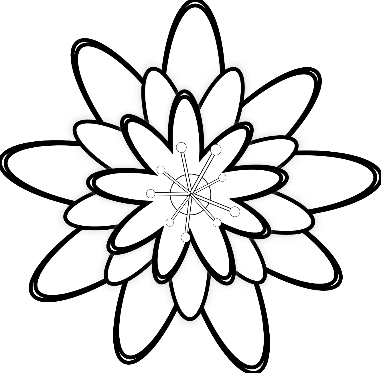 Nail Art Hitam Putih: Gambar Hitam Putih