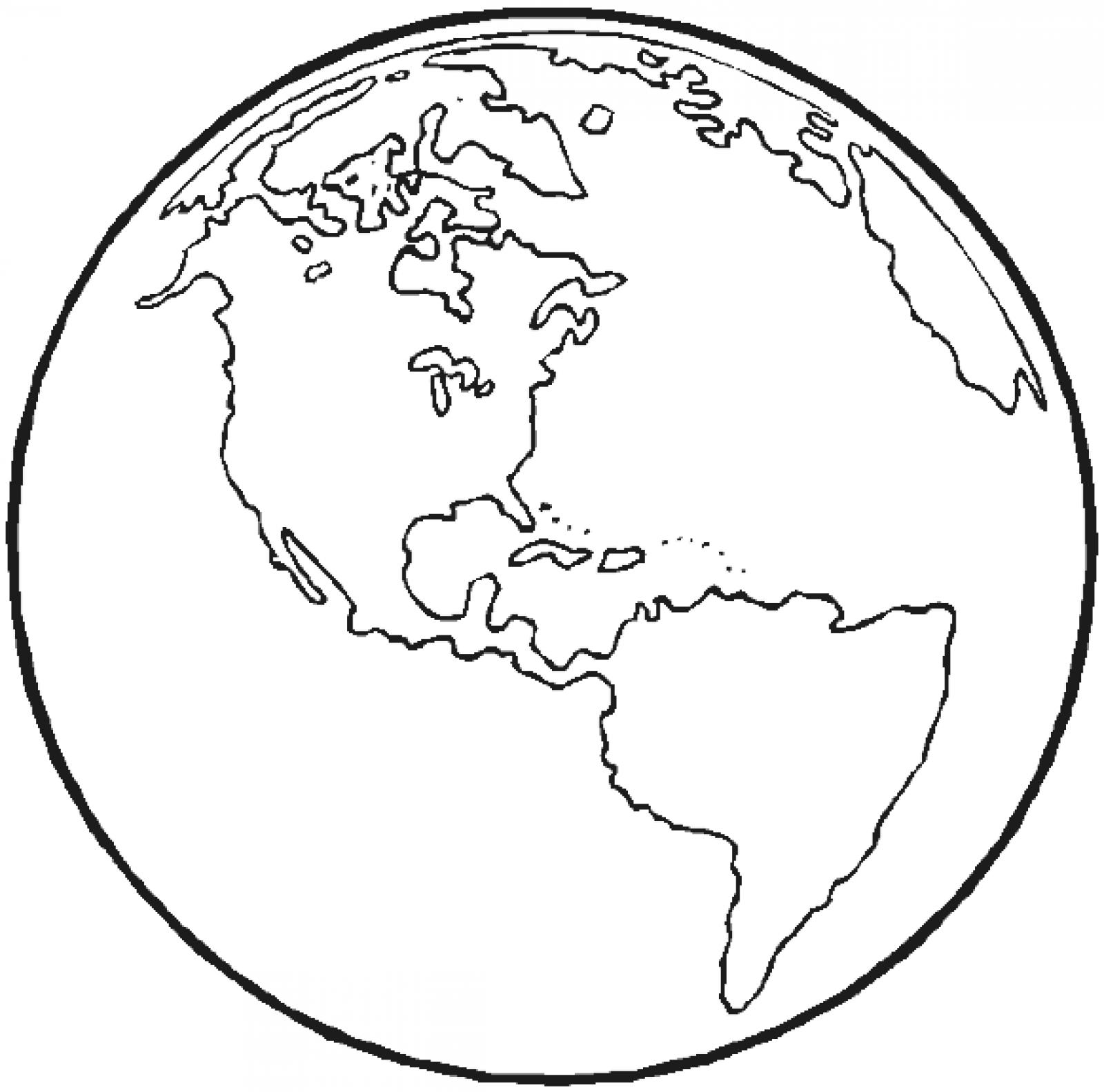 Line Drawing Earth : Line drawing earth clipart best