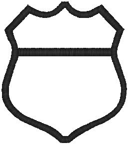 Police Badge Outline Clip Art Images amp Pictures Becuo