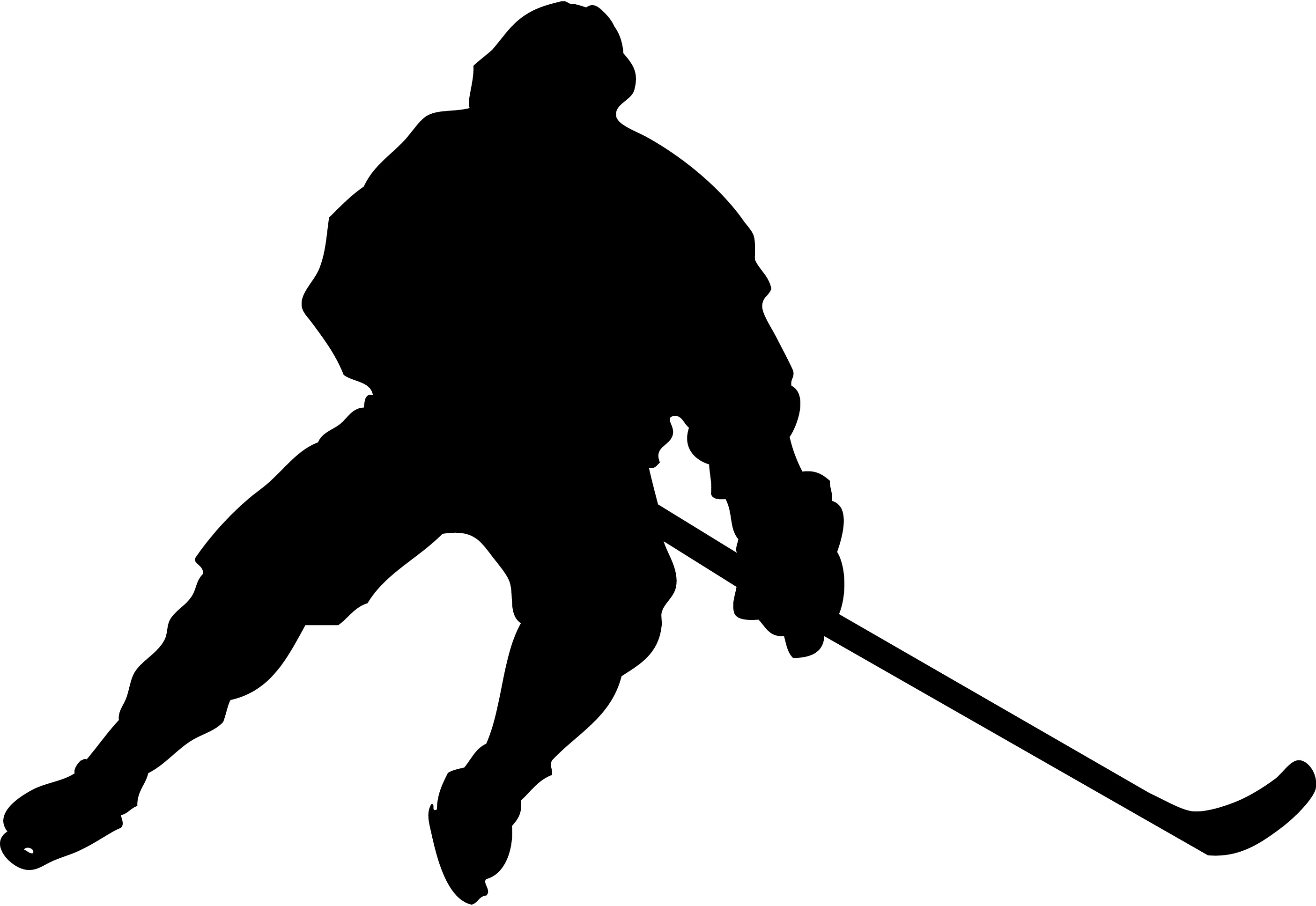 hockey player silhouette clipart best hockey stick clipart small image hockey stick clipart
