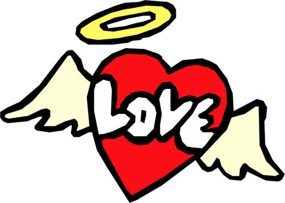 Heart With Wings Drawings - ClipArt Best