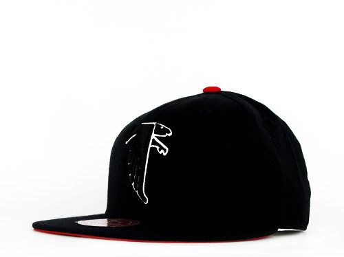 Atlanta Falcons Team Colors Mitchell & Ness Fitted Cap