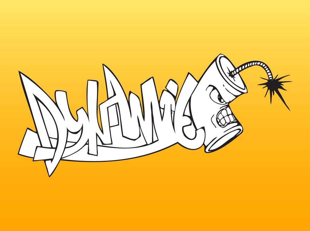 crazy graffiti vector - photo #17
