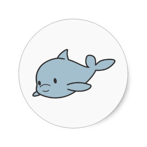 Cute Baby Dolphin Drawings images