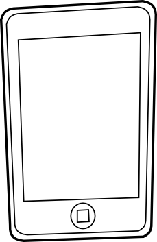 ipod 5 coloring pages | Iphone Coloring Pages - ClipArt Best