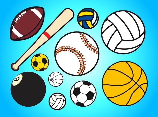 Sports Background Clip Art: All Sport Background