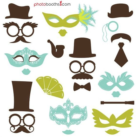 photo booth props template free download - photo booth props template download clipart best