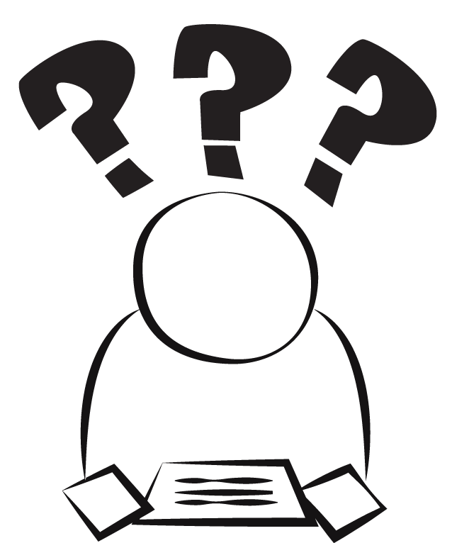 confused person clipart best