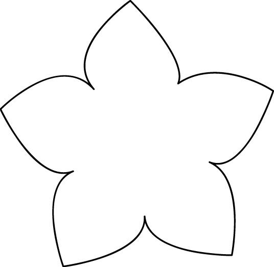 Flower Stencils - ClipArt Best