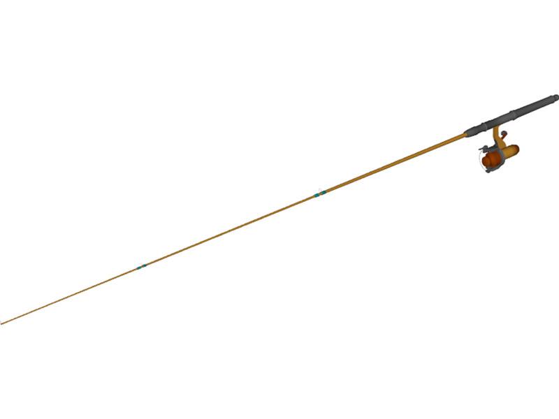fishing rod sketch - photo #44
